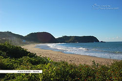 Praia grande - Penha - SC - Pousada das conchas