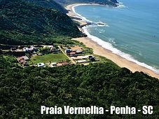 Praia Vermelha - Penha - SC - Pousada das conchas