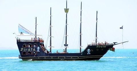 Barco Pirata - Penha - SC - Pousada das conchas