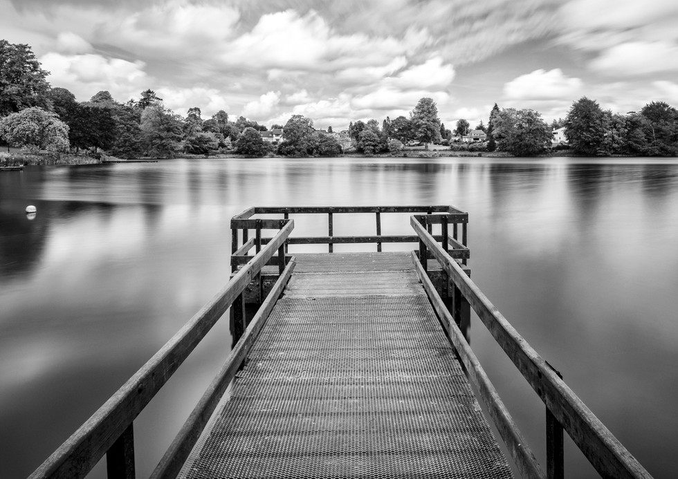 MONO - The Fishing Jetty by William Allen (9 marks)