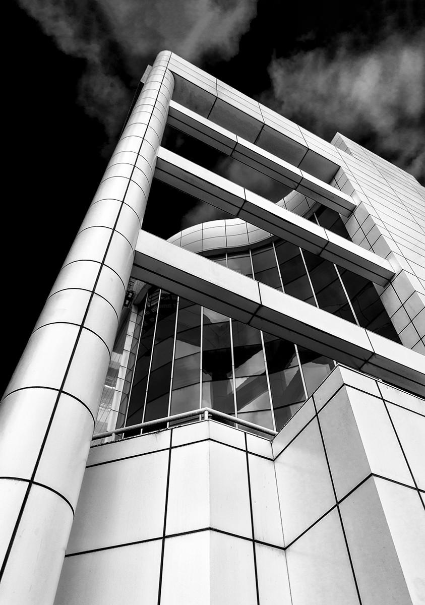 MONO - Halifax Building by William Allen (11 marks)