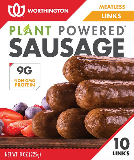 Meatless Sausage Links