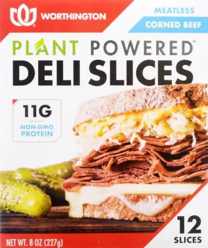 Meatless Corned Beef Slices