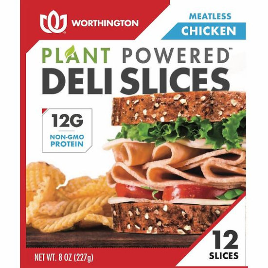Meatless Chicken Slices