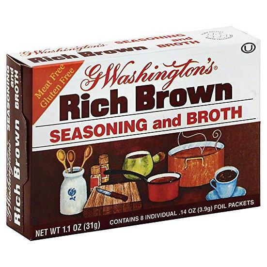 George Washington Brown Broth