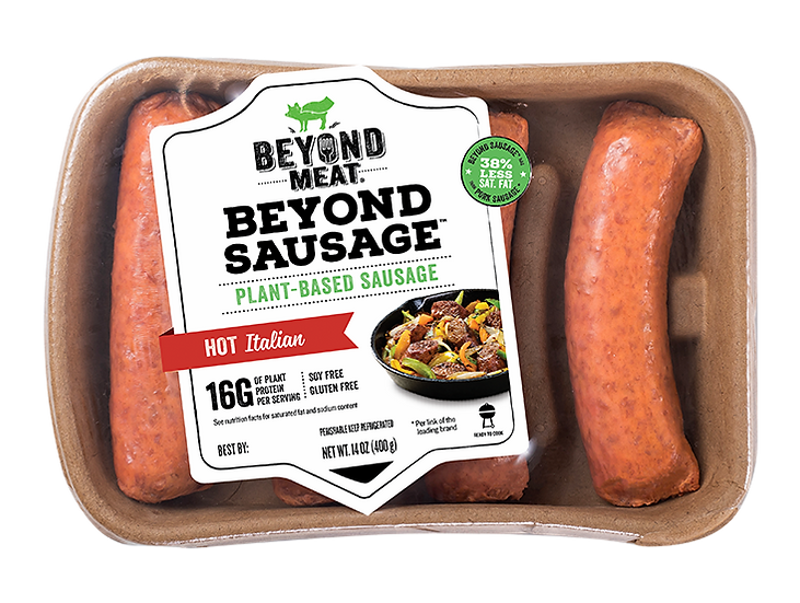 Beyond Meat Hot Italian Brat