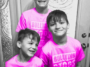 #PINKSHIRTDAY :                         TOGETHER WE CAN END BULLYING