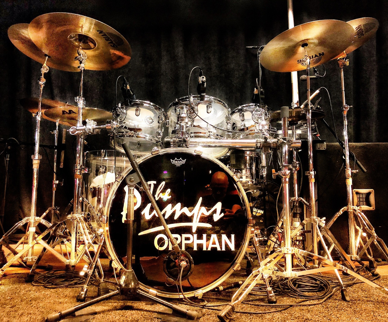 Pumps + Orphan Drum Kit