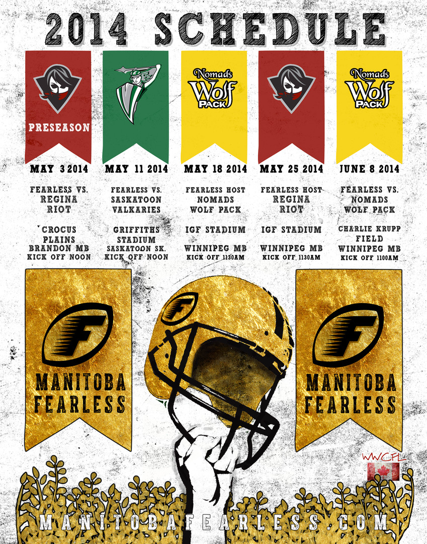 Fearless Football Schedule Design