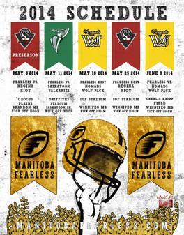 Fearless Football Schedule Design