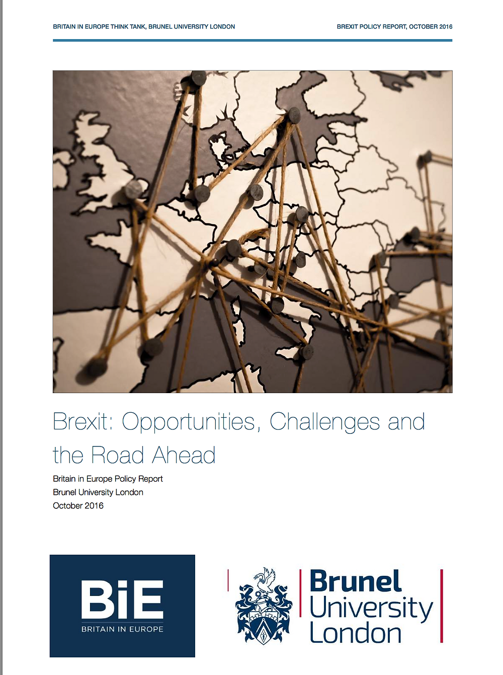 BiE Brexit report (October 2016)