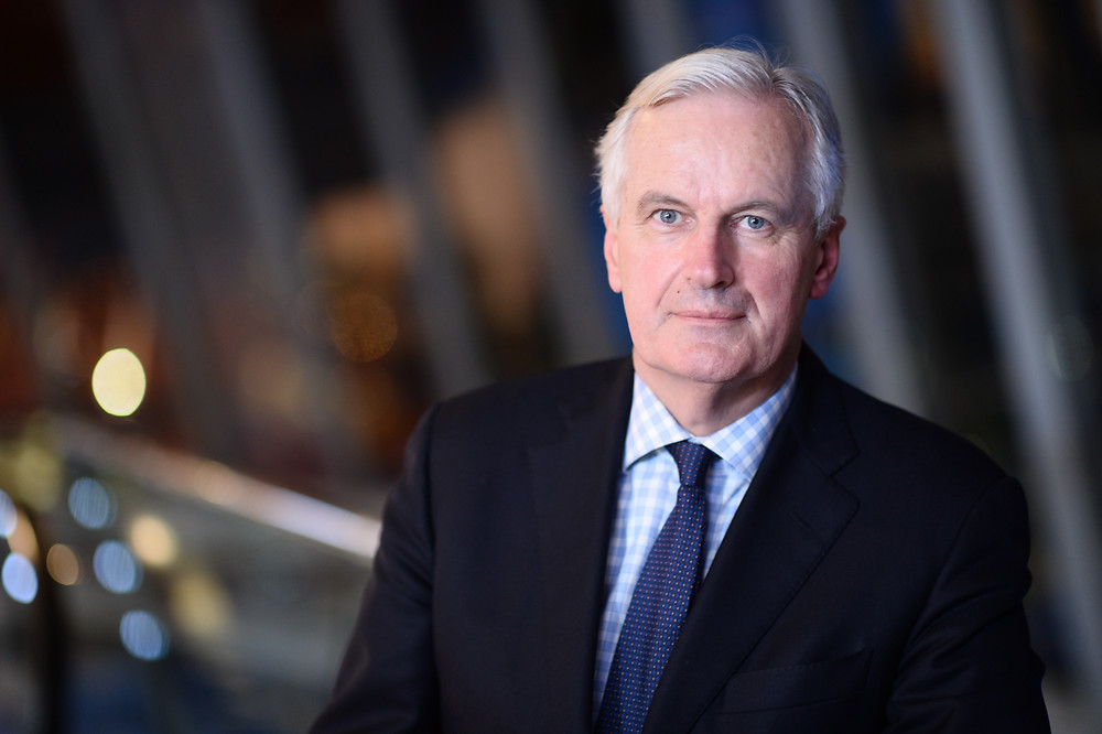Michel Barnier, the chief Brexit negotiator from the part of the EU