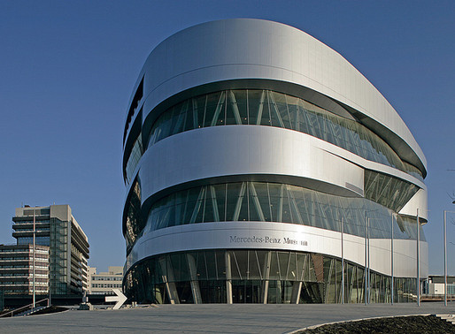 Muzeul Mercedes Benz, Stuttgart