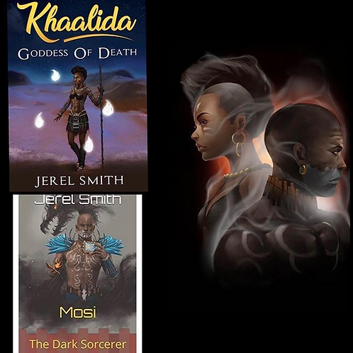 Khaalida & Mosi (Signed) With Free Mini Poster
