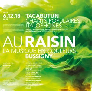 Au Raisin 2018 - 2019