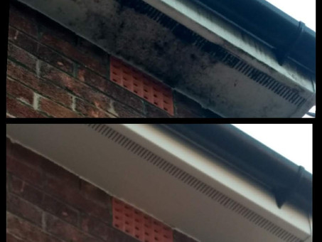 Gutter, Soffit & Fascia cleaning - Wrexham and surrounding areas