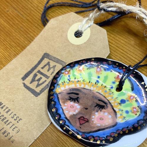 Lady Ceramic Necklace