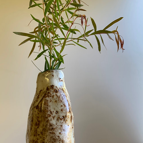 Small Rusty Red Vase