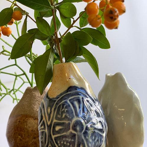 Trio of Bud Vases