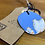 Thumbnail: Light Blue and White Ceramic Necklace