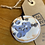 Thumbnail: White and Blue Ceramic Necklace