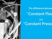 "The difference between ""Constant Flow"" and ""Constant Pressure"""