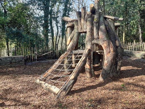 Hughenden Manor climbing structure