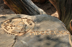 Carving of Capability Brown
