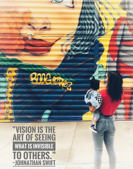 """""""Vision is the art of seeing what is invisible to others."""" ~Jonathan Swift (1667-1745)"""