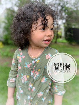 Type 3A Curly Hair Tips For Children-Shiny, Long, & Healthy Hair