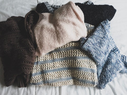 DIY Baby Skirt Using Recycled Sweaters