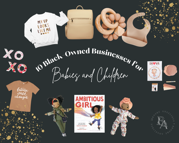 10 Black-Owned Businesses to Support for Babies and Children
