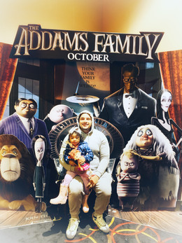 The Addam's Family Movie Experience-Toddler's First Time At The Movies