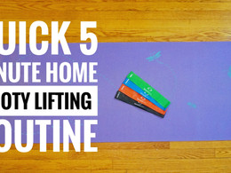 5-Minute At Home Booty Lifting Routine!