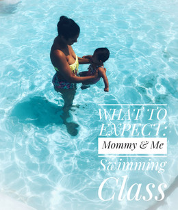 What to Expect: Mommy & Me Swimming Class