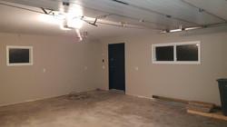 Garage interior AFTER.