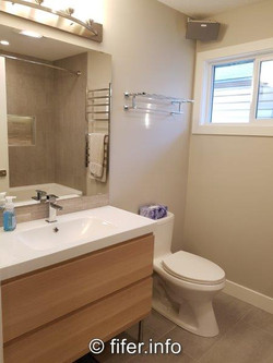 Increased this bathroom by 50%
