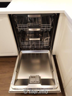 Hidden dishwasher.