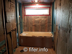Insulated bathrooms and...