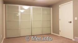 PLENTY of NEW closets!