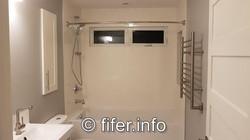 Over 60 sq. ft. upstairs luxury bath