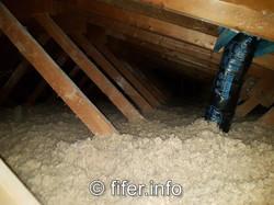 R50 attic insulation.