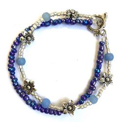 Blue Bell Bracelet