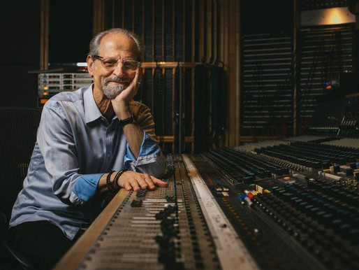 Eddie Kramer worked with Jimi Hendrix for the last three years of his life —  Hendrix 'Live in Maui'