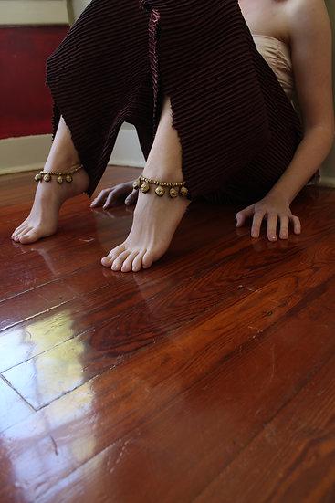 Brass anklets