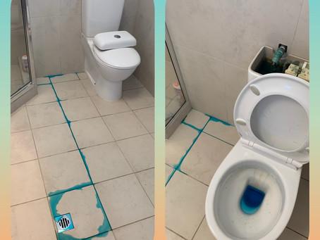 Leak in the bathroom?