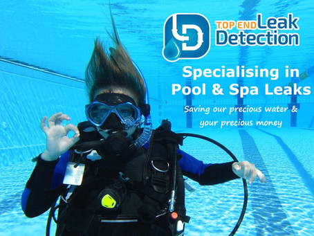 Top End Leak Detection specialises in pool and spa leaks.