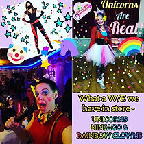 We are bringing the fun with Unicorns, N