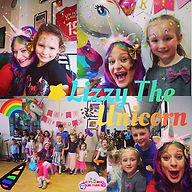 Lizzy The Unicorn loved Mila's party on