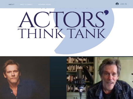 Actors' Think Tank on CBS News this past weekend